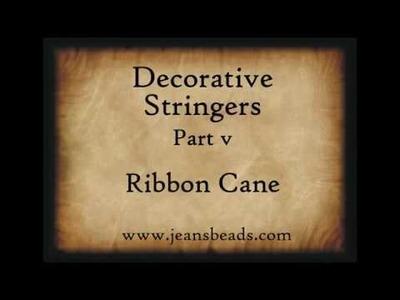 Decorative Stringers Part 5 by Jeannie Cox Lampwork Glass