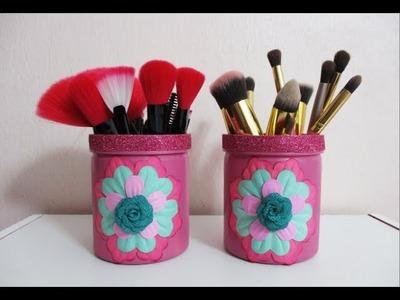 DIY : #185 Makeup Brush Holder ❤