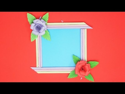 DIY Beautiful  Paper Frame l TCraft