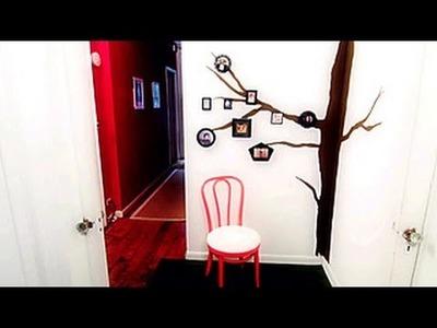 DIY Family Photo Tree