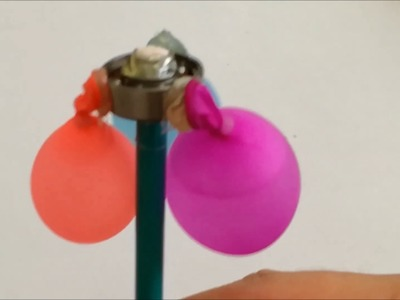 DIY fidget spinner water balloons