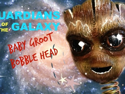 DIY Guardians of the Galaxy Baby Groot Bobble Head