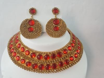 (DIY)HOW TO MAKE DESIGNERS WEAR PAPER EARRINGS.PAPER NECKLACE SET.THE STUNNING HANDMADE'S❤