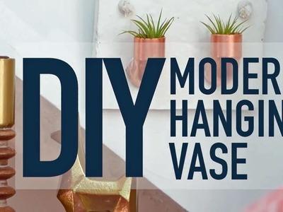 DIY Modern Hanging Vase - HGTV
