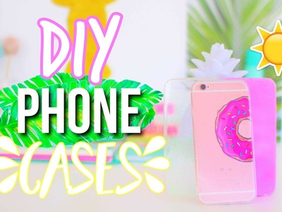 DIY Phone Cases for Summer 2017!! || Makeupgirl21