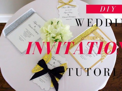 DIY WEDDING INVITATIONS | FAST, EASY, & AFFORDABLE