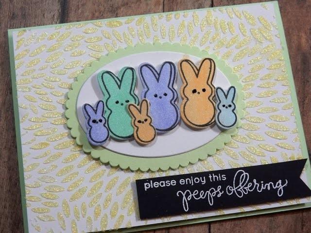 Easter Card Mini Series | SSS My Kind of Peep  | Card 3 of 3