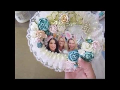 Easter.Spring Series Episode 15: Altered Dollar Tree Mirrors