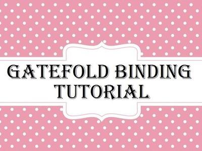 Easy Gatefold Binding Tutorial for Mini Album