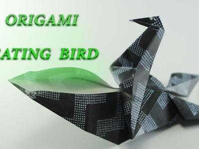 Easy Origami Eating Bird