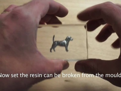 Embedding an object in Clear Resin