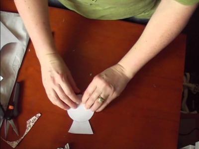 Fan Fold Butterfly Card