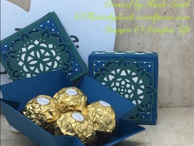 Ferrero Friday Shallow Explosion box for Four Ferrero