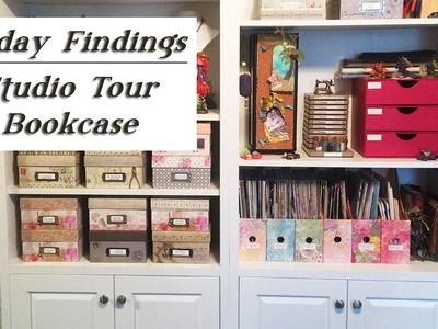 Friday Findings-Studio Tour Part 2-Bookcase