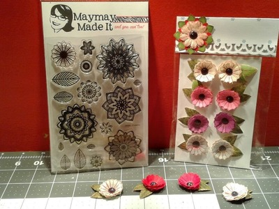Friday Flowers More Powers Flowers With Maymadeit Stamps