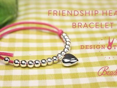 Friendship Heart Bracelet Kit - Design Time