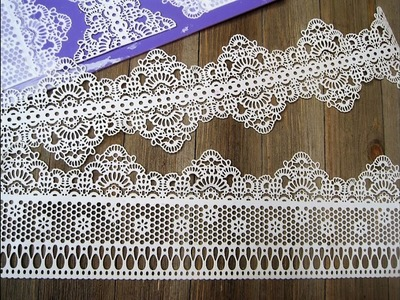 Frosted Lace Mat ~ How to Use it the Miriam Joy way