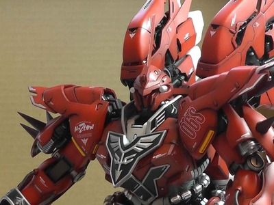 G-System Sinanju 1.72 - Part 10 - Arms, shoulders and Boosters