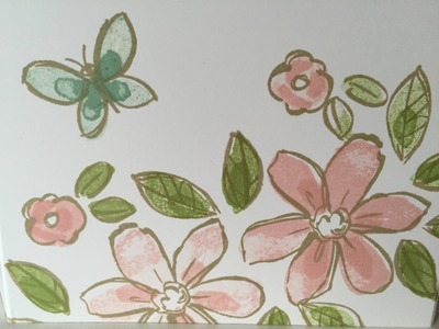 Garden in Bloom Technique 2