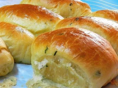 GARLIC DINNER ROLLS - SOFT FLUFFY DELICIOUS ! Garlic Bread Rolls Recipe