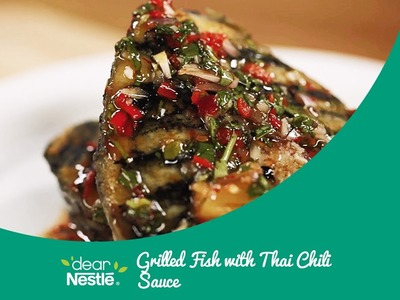 Grilled Fish with Thai Chilli Sauce