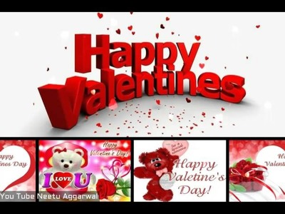 Happy Valentines Day wishes , Valentine's Day Whatsapp Video, Valentine's Day Greetings, SMS