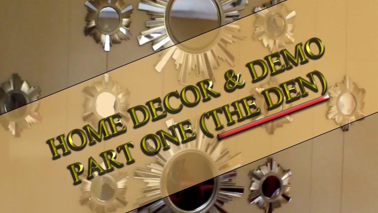 HOME DECOR (REFRESH Y0UR WALL)  DECOR HAUL & DEMO