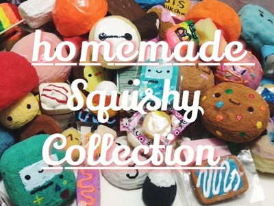 Homemade squishy collection!! 2016