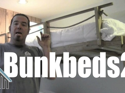 How to build your own bunk bed part 2! Easy! Home Mender,