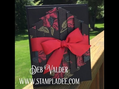 How To Create a Full Curtain Card with Deb Valder