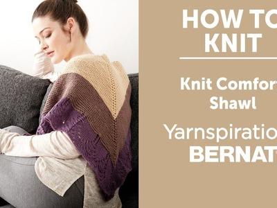 How to Knit a Prayer Shawl: Knit Comfort Shawl