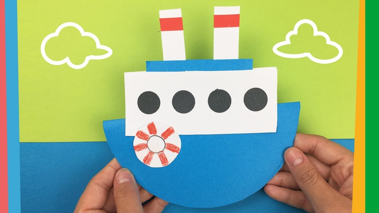 How to make a boat | Easy DIY tutorial for kids