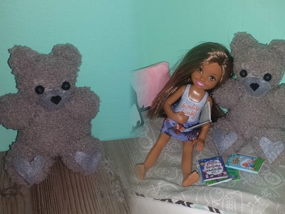 How to make a Doll Size Teddy Bear