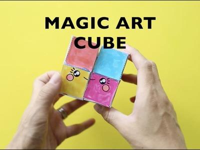 How to Make a Magic Paper Art Cube Transformer