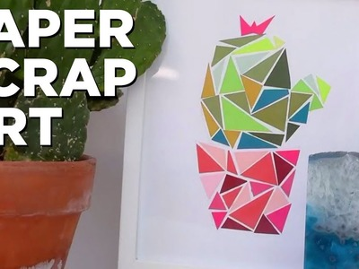 How to Make Art From Paper Scraps - HGTV