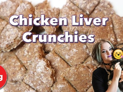 How to Make Chicken Liver Crunchies! Nutritious Homemade Treats For Your Cat! + COMPETITION!