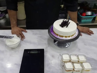 How to make cream cheese cake with Whipy Whip ( Recipe by Chef Arshad Ghafoor )