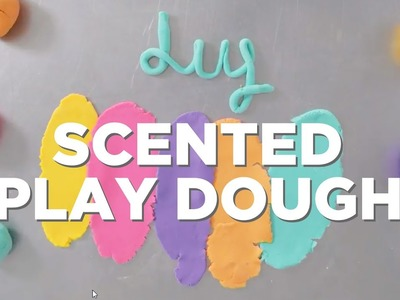 How to Make DIY Scented Play Dough - HGTV