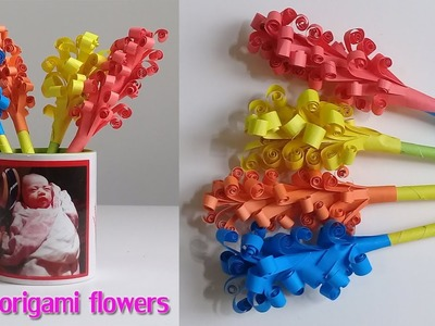 How to Make Easy Origami Flowers for Beginners | Beautiful Paper Flowers
