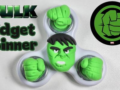 How To Make Fidget Spinner Hulk | Superhero Spinner
