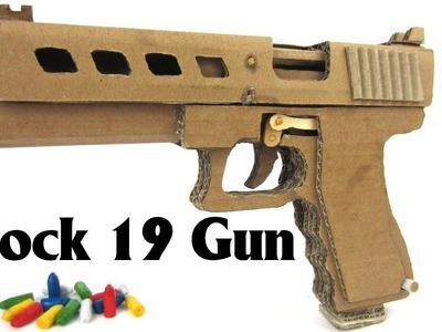How To Make Glock 19 Gun [Step by Step] Cardboard Gun with Magazine