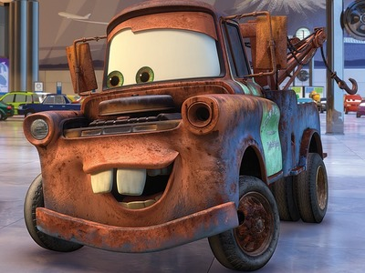 How to make Mater the Greater from Cars