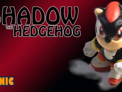 How to make Shadow the Hedgehog | Sonic | BunBum's Playdoh.Clay Tutorial video