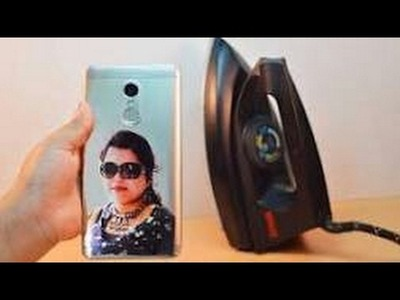 How to Print Your Photo on Mobile cover at Home - Using Electric Iron""