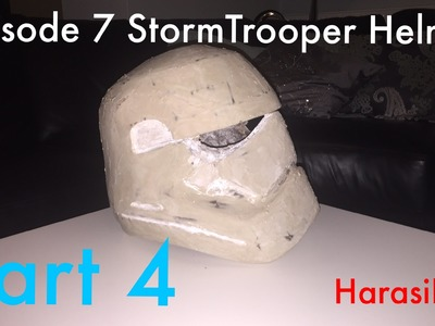 How To - Star Wars Ep 7 StormTrooper Helmet - Part 4