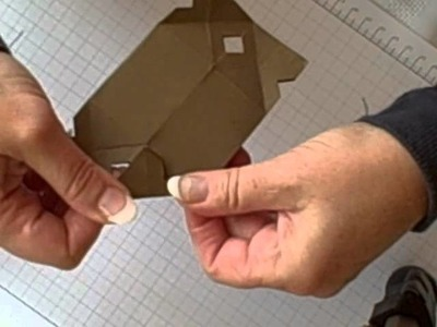 How to twist the Stampin' Up! Candy Wrapper Die