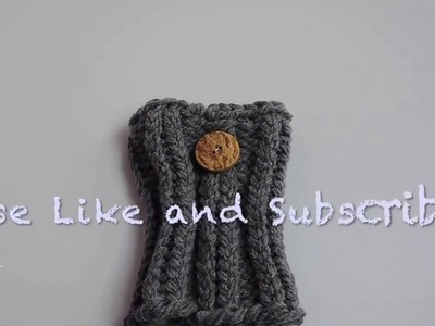 Loom Knit Boot Cuffs (Child Size)