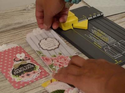 Make Pockets using WRMK Gift Bag Punch Board *Tutorial*