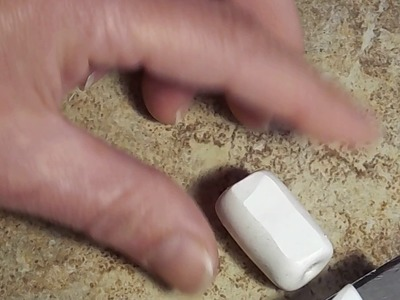 Making squared and twisted tube beads