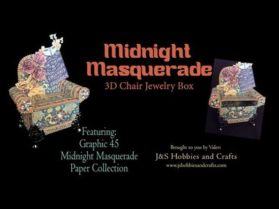 Midnight Masquerade Chair by Valeri at J and S Hobbies and Crafts